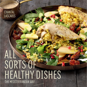 All Sorts of Healthy Dishes: The Mediterranean Way recipe book cover