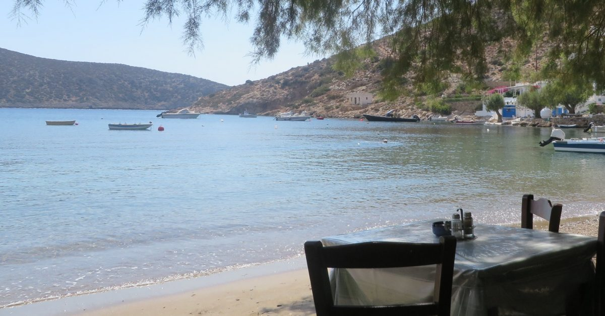 Sailing in Greece and savouring the tastes
