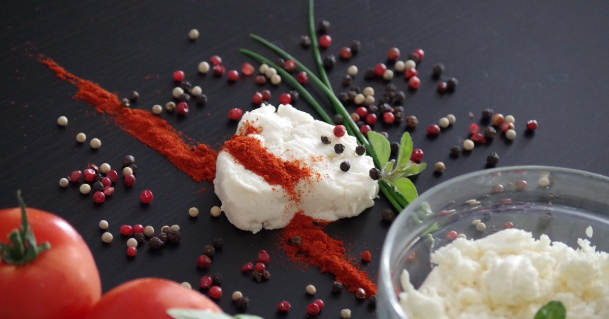 Cottage Cheese Caprese Crudite