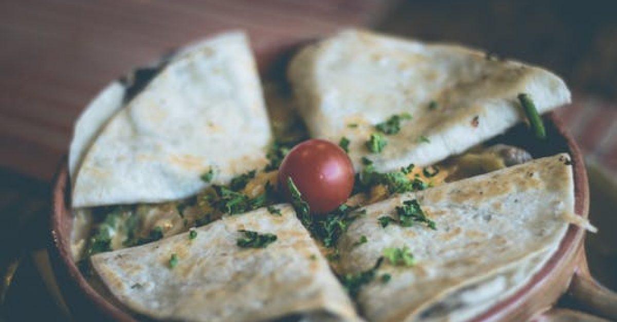15 minute meal – black bean quesadillas