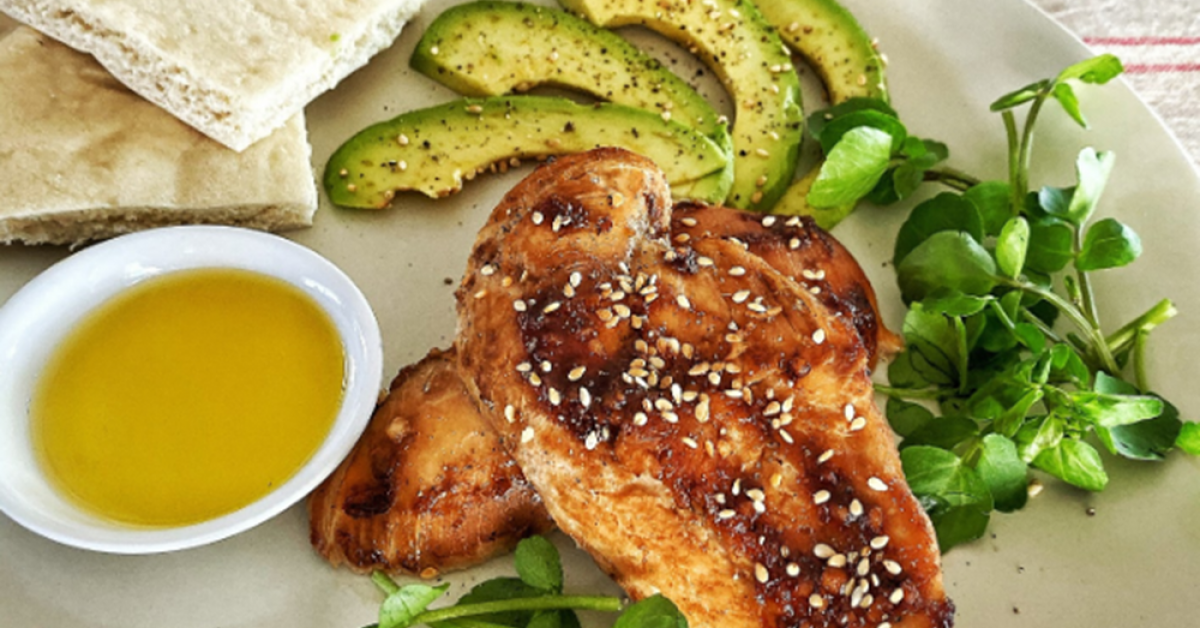 15 Minute Gourmet – Hoisin roasted chicken breast