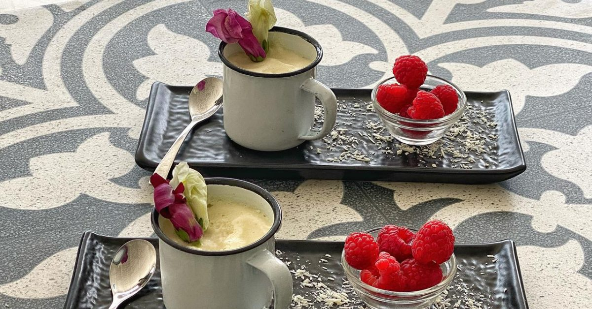 Lighter Low Fat White Chocolate Mousse
